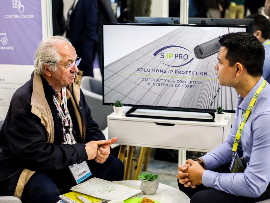 SIPPRO Solutions IP Protection était présente à Expoprotection 2018. Nos équipes ont accueilli les clients sur le stand.