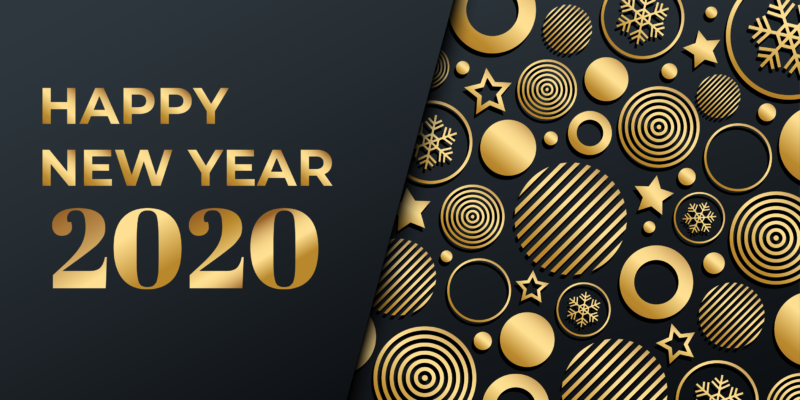 SIPPRO Solutions IP Protection French distributor of security solutions for professionals based in Montpellier Bordeaux and Paris, wishes you a very happy new year 2020.