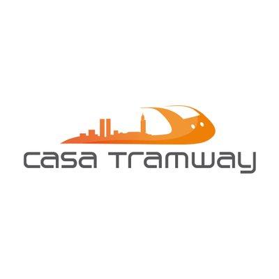 Logotype du tramway de Casablanca au Maroc, qui est une référence professionnelle SIPPRO Solutions IP Protection, distributeurs de solutions de sûreté et de sécurité pour les professionnels.