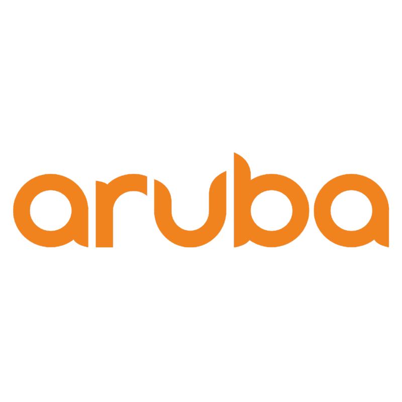 Logotype Aruba, une marque partenaire et distribuée par SIPPRO Solutions IP Protection, distributeurs de solutions de sûreté et de sécurité pour les professionnels.