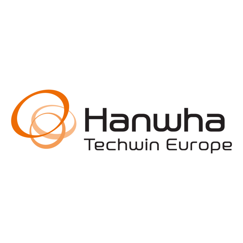 logo Hanwha Techwin, marque dsitribuée par SIPPRO - Solutions IP Protection