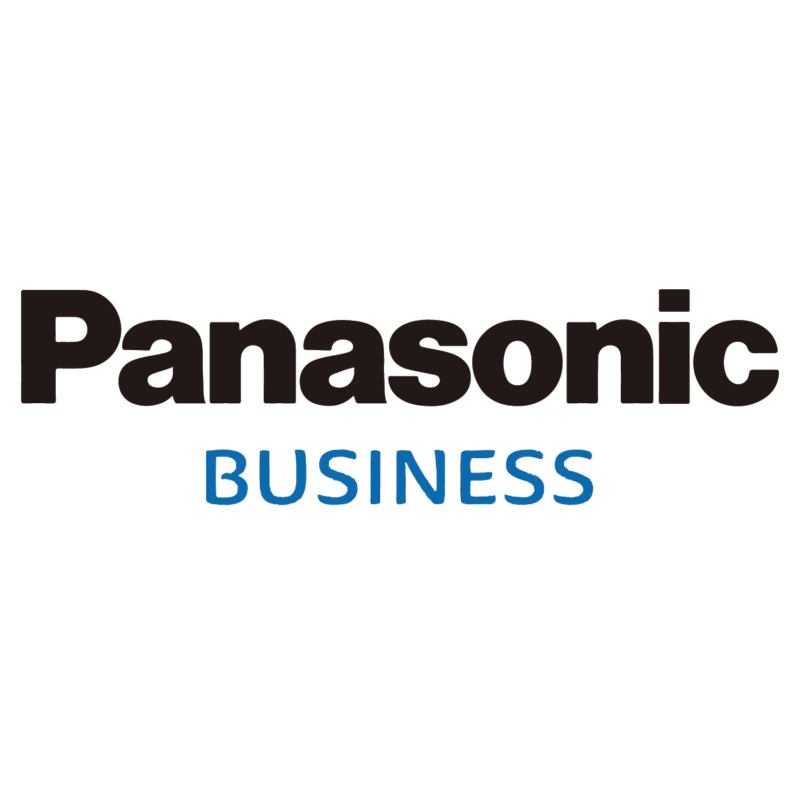 logo Panasonic Business, marque dsitribuée par SIPPRO - Solutions IP Protection