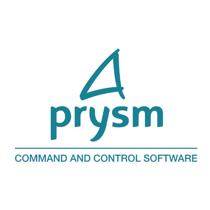 Logotype Prysm Software, une marque partenaire et distribuée par SIPPRO Solutions IP Protection, distributeurs de solutions de sûreté et de sécurité pour les professionnels.