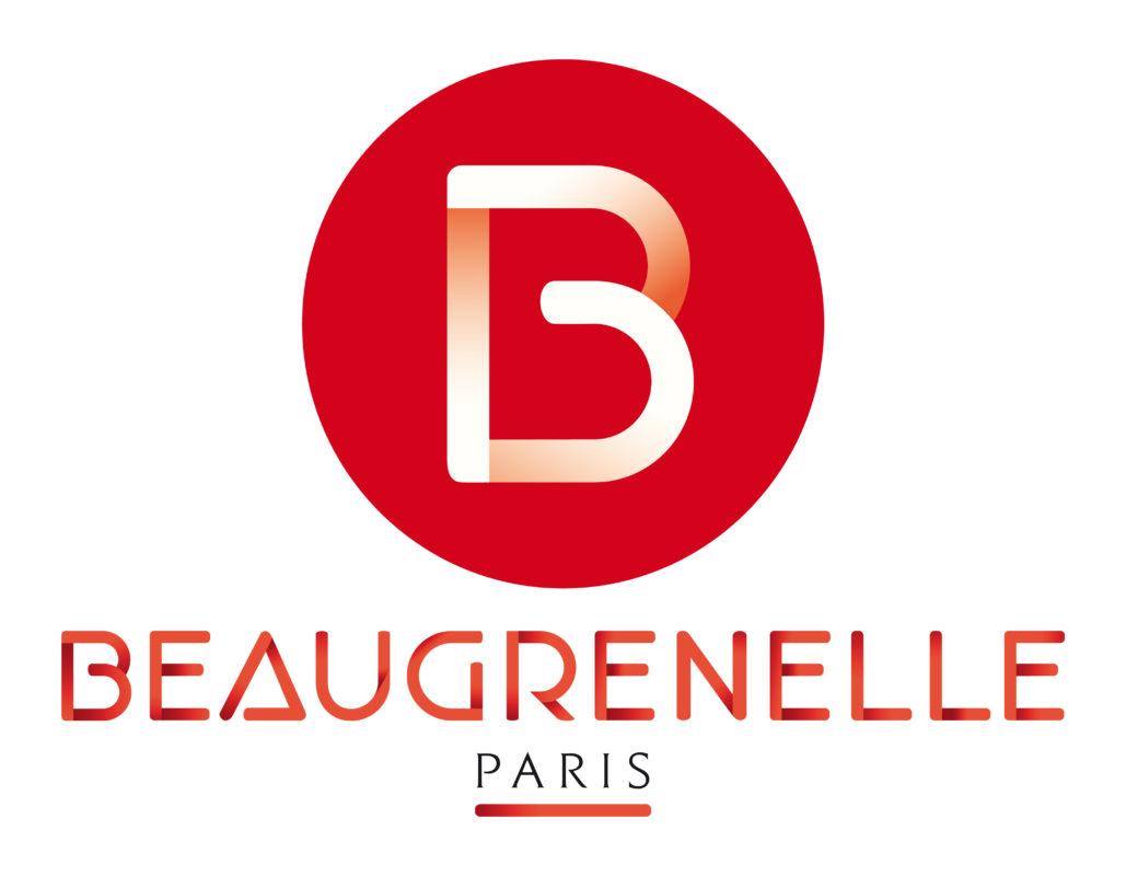 Logotype du centre commercial Beaugrenelle, qui est une référence professionnelle SIPPRO Solutions IP Protection, distributeurs de solutions de sûreté et de sécurité pour les professionnels.