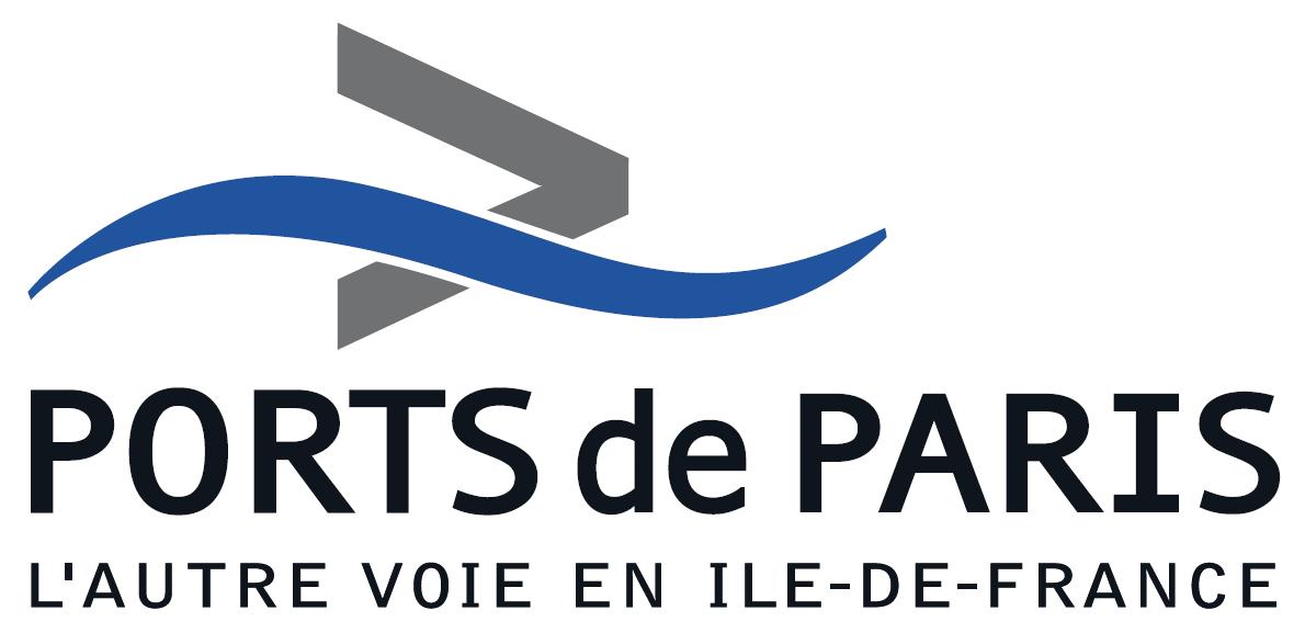 Logotype du Port commercial de Paris, qui est une référence professionnelle SIPPRO Solutions IP Protection, distributeurs de solutions de sûreté et de sécurité pour les professionnels.