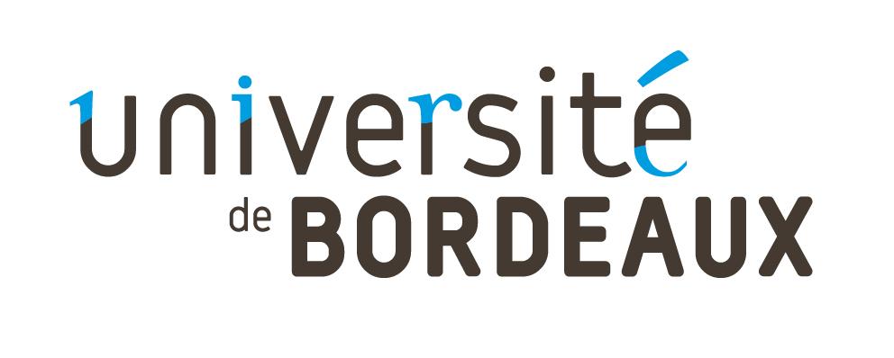 Logotype de l'université de Bordeaux, qui est une référence professionnelle SIPPRO Solutions IP Protection, distributeurs de solutions de sûreté et de sécurité pour les professionnels.