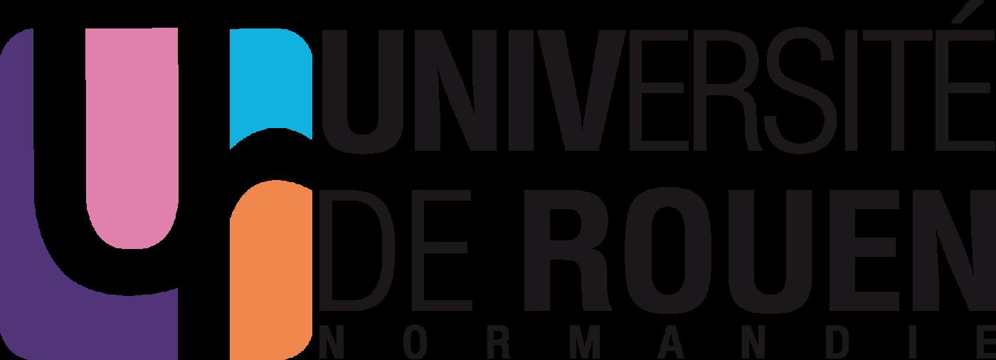 Logotype de l'université de Rouen, qui est une référence professionnelle SIPPRO Solutions IP Protection, distributeurs de solutions de sûreté et de sécurité pour les professionnels.