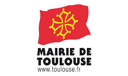 Logotype de la ville de Toulouse, qui est une référence professionnelle SIPPRO Solutions IP Protection, distributeurs de solutions de sûreté et de sécurité pour les professionnels.