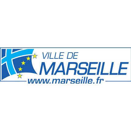 Logotype de la ville de Marseille, qui est une référence professionnelle SIPPRO Solutions IP Protection, distributeurs de solutions de sûreté et de sécurité pour les professionnels.