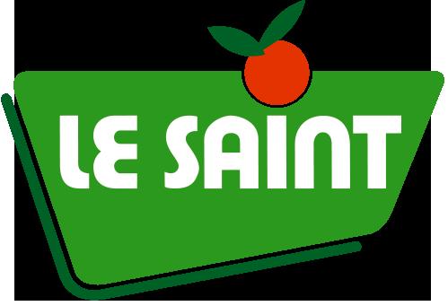 Logotype Le Saint fruits, qui est une référence professionnelle SIPPRO Solutions IP Protection, distributeurs de solutions de sûreté et de sécurité pour les professionnels.