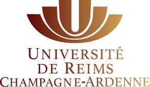 Logotype de l'université de Reims, qui est une référence professionnelle SIPPRO Solutions IP Protection, distributeurs de solutions de sûreté et de sécurité pour les professionnels.