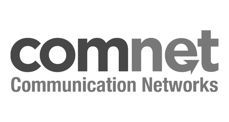 Logo Logotype Comnet sur le site internet SIPPRO solutions ip protection www.sippro.fr expert sûreté vidéoprotection montpellier hérault france
