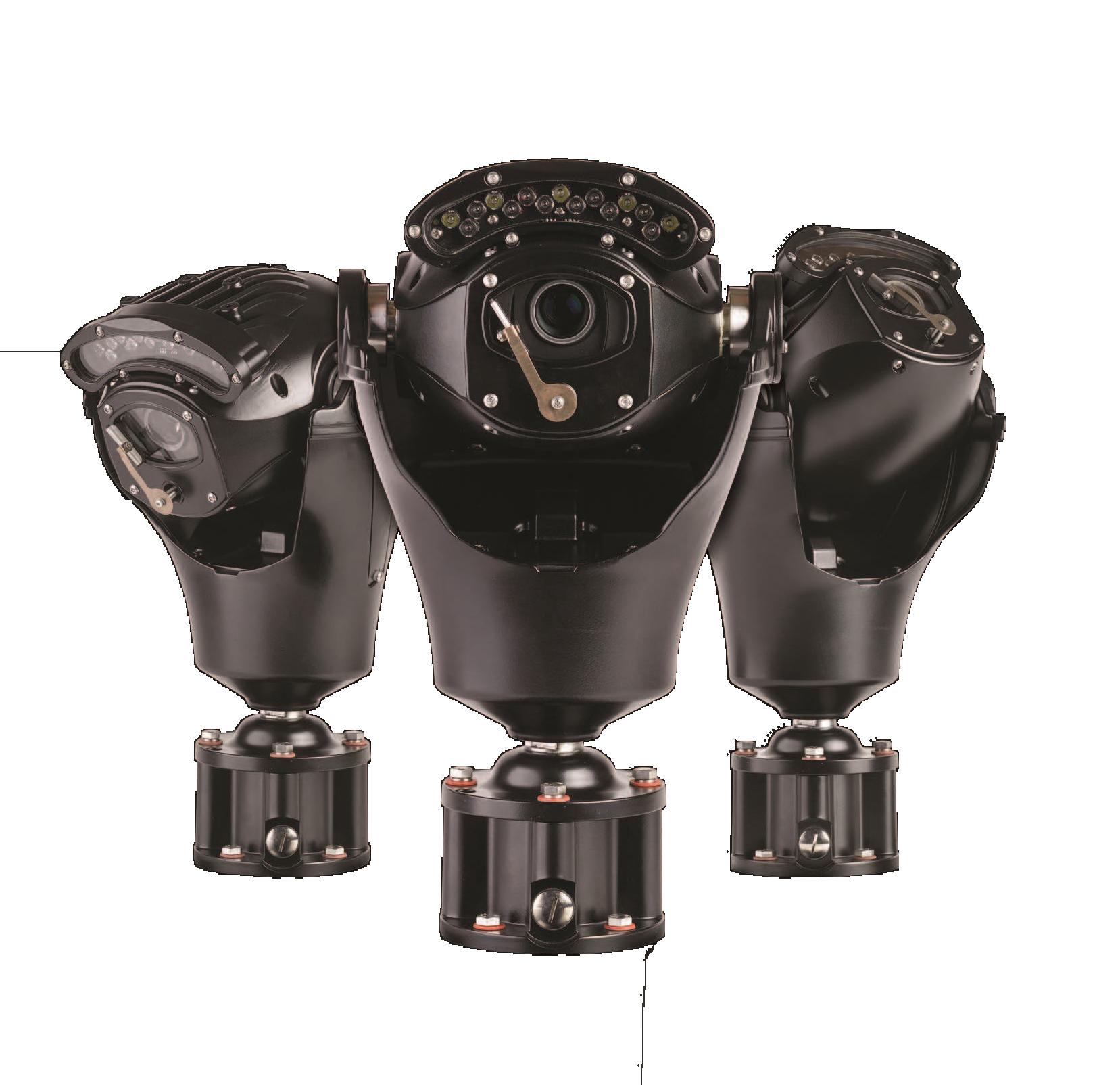 Visuel de la gamme de caméra de surveillance INVICTUS produites en Grande-Bretagne par la marque 360 vision technology et distribuées par SIPPRO - Solutions IP Protection