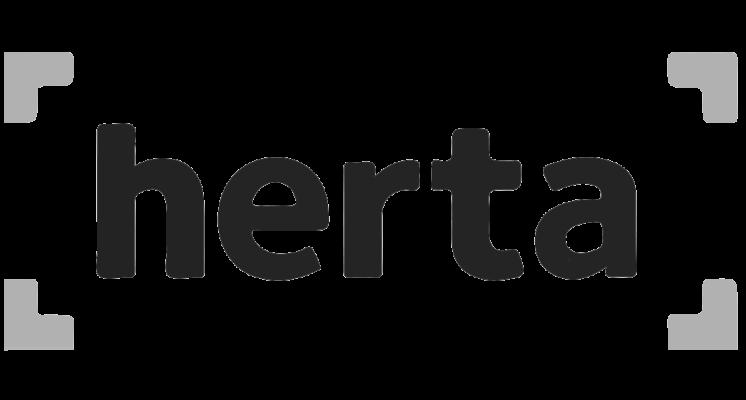 Logo Logotype HERTA sur le site internet SIPPRO solutions ip protection www.sippro.fr expert sûreté vidéoprotection montpellier hérault france
