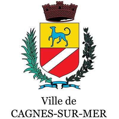 Logotype de la ville de Cagnes sur Mer, qui est une référence professionnelle SIPPRO Solutions IP Protection, distributeurs de solutions de sûreté et de sécurité pour les professionnels.