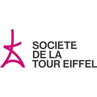 Logotype Société de la tour Eiffel, qui est une référence professionnelle SIPPRO Solutions IP Protection, distributeurs de solutions de sûreté et de sécurité pour les professionnels.