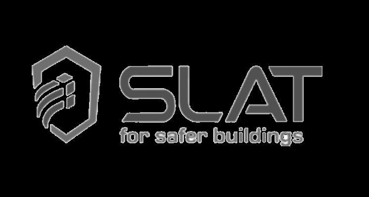 Logo Logotype SLAT sur le site internet SIPPRO solutions ip protection www.sippro.fr expert sûreté vidéoprotection montpellier hérault france