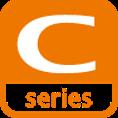 Pictogramme de la série C, une gamme de caméra de surveillance de la marque VIVOTEK, distribuée par SIPPRO Solutions IP Protection en France.