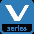 Pictogramme de la série V, une gamme de caméra de surveillance de la marque VIVOTEK, distribuée par SIPPRO Solutions IP Protection en France.