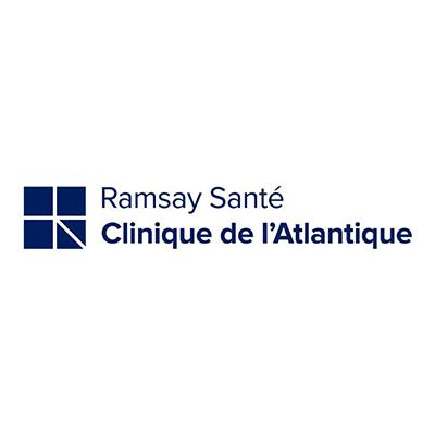 Logo de la clinique de l'Atlantique, groupe Ramsay Santé